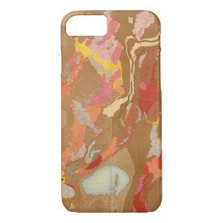 Nevada Basin Geological iPhone 7 Case