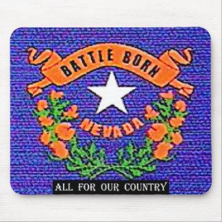 Nevada Battle Born Mouse Pad