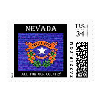 Nevada Battle Born Postage Stamp