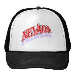 Nevada capsula el casquillo gorros bordados
