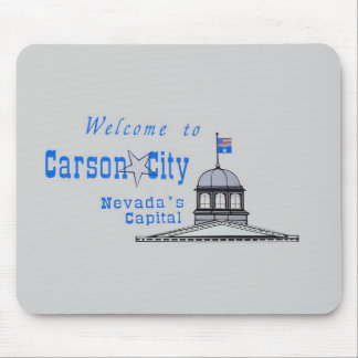 NEVADA Carson City Mouse Pad