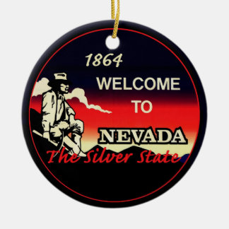 NEVADA CERAMIC ORNAMENT