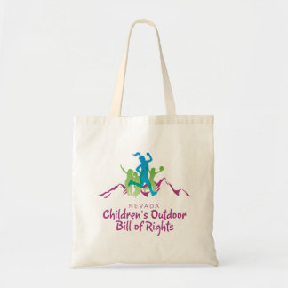 Nevada Children's Outdoor Bill of Rights tote Budget Tote Bag