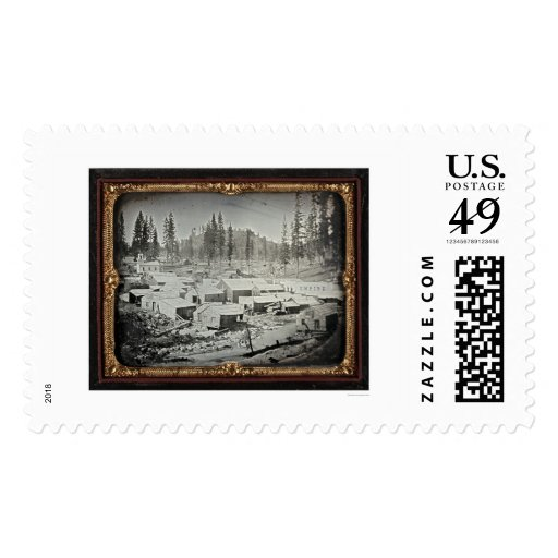 Nevada City, 1852 by Joseph Blaney Starkweather Postage Stamp
