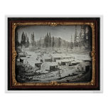 Nevada City, 1852 by Joseph Blaney Starkweather Posters