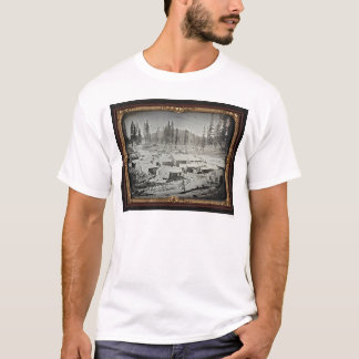 Nevada City, 1852 by Joseph Blaney Starkweather T-Shirt