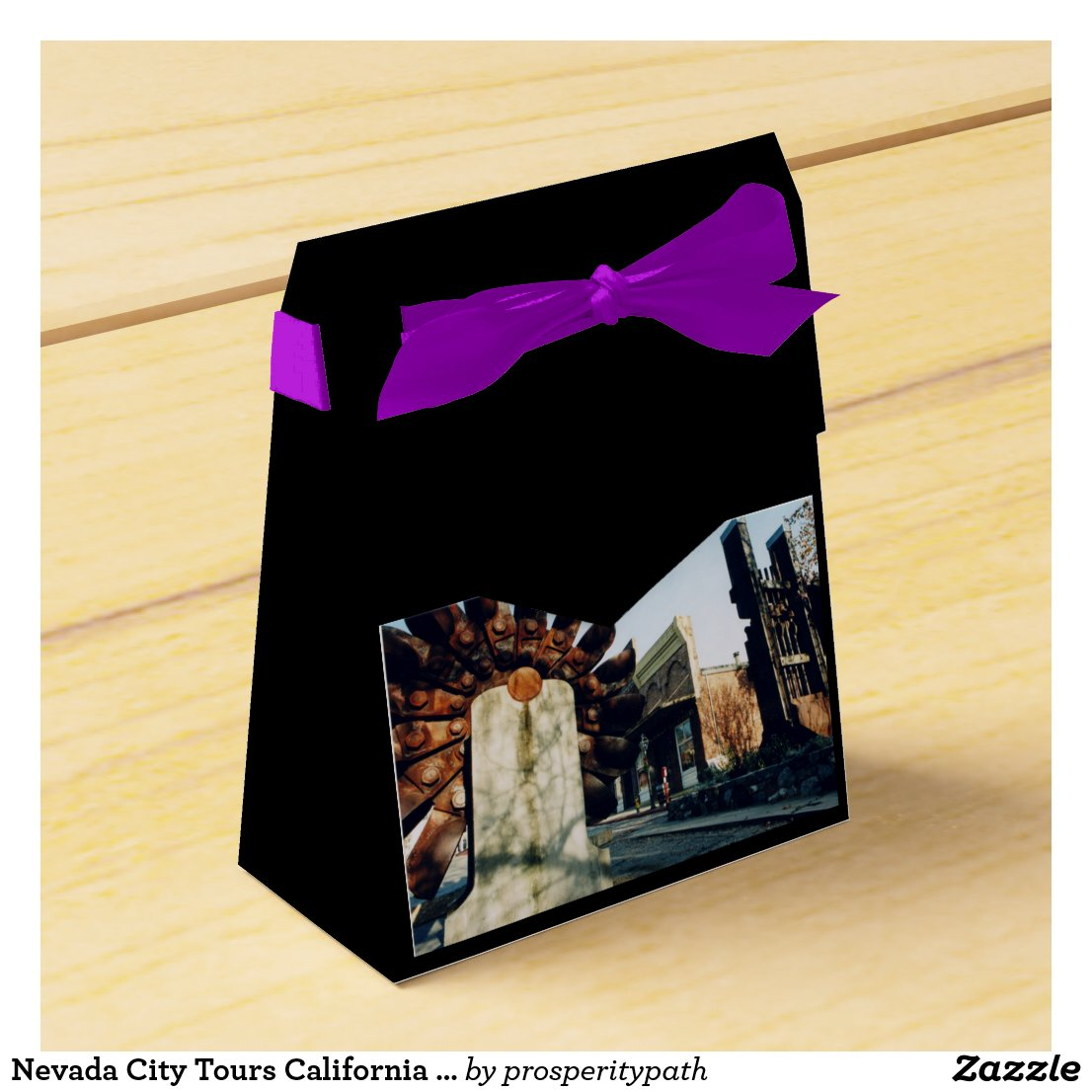 Nevada City Tours California Gold Country Favor Box