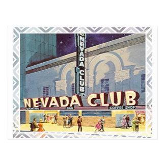 Nevada Club Reno Postcard