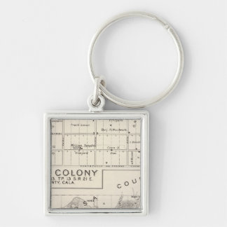 Nevada Colony Keychain