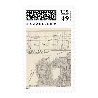 Nevada Colony Postage Stamps
