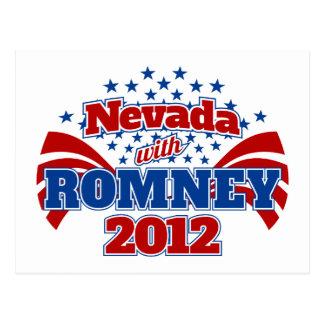 Nevada con Romney 2012 Postal