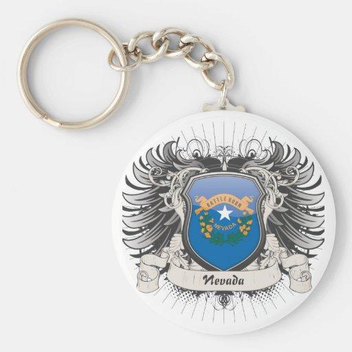 Nevada Crest Key Chain