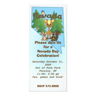 Nevada Cuties 4x9.25 Paper Invitation Card