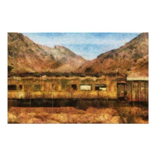 Nevada - Desert Train Personalized Stationery