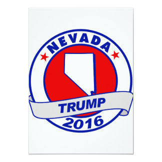 """Nevada Donald Trump 2016 Invitación 5"""" X 7"""""""