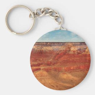Nevada - el Gran Cañón Llavero Redondo Tipo Pin
