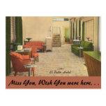 vintage, post card, travel, nevada, las vegas,
