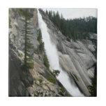 Nevada Falls at Yosemite National Park Ceramic Tile