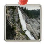 Nevada Falls at Yosemite National Park Metal Ornament