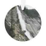 Nevada Falls at Yosemite National Park Ornament