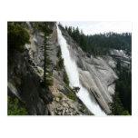 Nevada Falls at Yosemite National Park Postcard