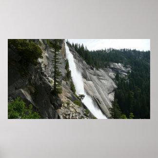 Nevada Falls at Yosemite National Park Poster