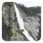 Nevada Falls at Yosemite National Park Square Sticker