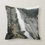 Nevada Falls at Yosemite National Park Throw Pillow