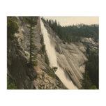 Nevada Falls at Yosemite National Park Wood Wall Art