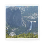 Nevada Falls from Panorama Trail Paper Napkin