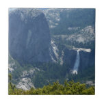 Nevada Falls from the Panorama Trail Yosemite Ceramic Tile