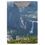 Nevada Falls from the Panorama Trail Yosemite Clipboard