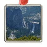 Nevada Falls from the Panorama Trail Yosemite Metal Ornament