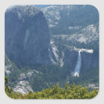 Nevada Falls from the Panorama Trail Yosemite Square Sticker