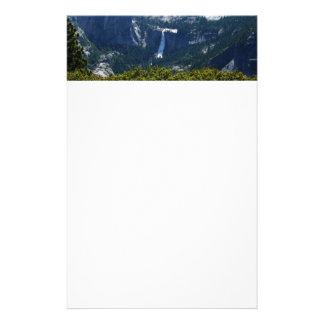 Nevada Falls from the Panorama Trail Yosemite Stationery