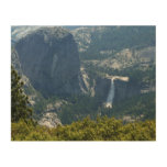 Nevada Falls from the Panorama Trail Yosemite Wood Wall Decor