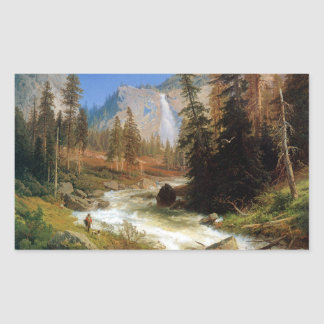 Nevada Falls, Yosemite Rectangular Sticker