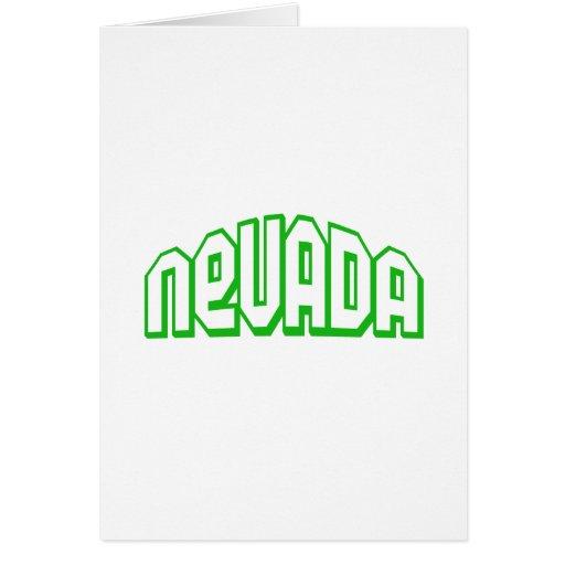 Nevada Felicitación