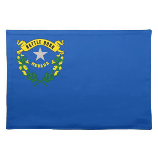 Nevada Flag American MoJo Placemat