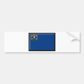 Nevada Flag Bumper Sticker
