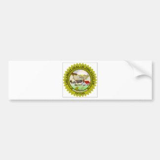 Nevada Flag Bumper Stickers