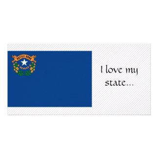 Nevada Flag Card