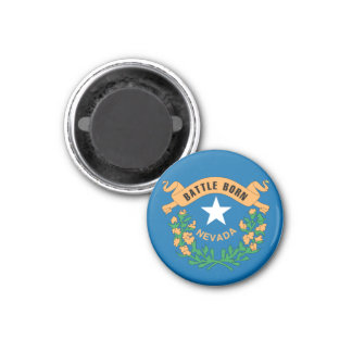 NEVADA Flag Design - Magnet