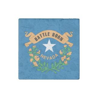 NEVADA Flag Design - Stone Magnet