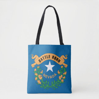 NEVADA Flag Design - Tote Bag