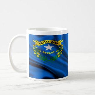 Nevada Flag Fabric Coffee Mug