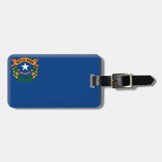 Nevada Flag Tags For Luggage