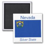 Nevada Flag Magnet