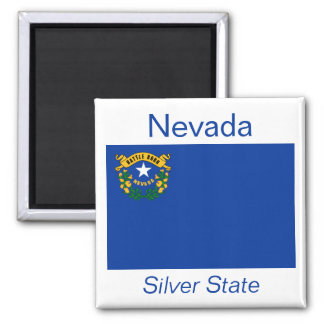 Nevada Flag Magnet