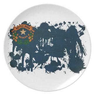 Nevada Flag Plate